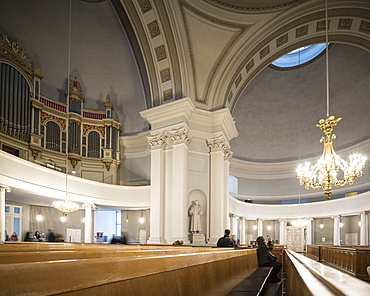 Interior of Uspenskin (Uspenski) Cathedral, Helsinki, Finland, Europe