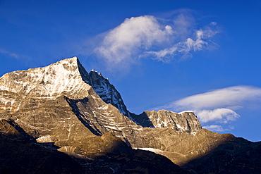 Kongde Ri, 6187 metres, Solu Khumbu Region, Nepal, Himalayas, Asia