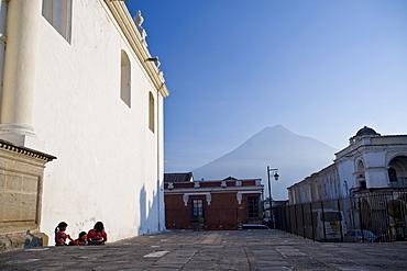 Cathedral of San Jose, Antigua, UNESCO World Heritage Site, Guatemala, Central America