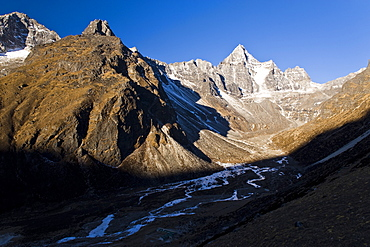 Kumuche Himal, Solu Khumbu (Everest) Region, Nepal, Himalayas, Asia