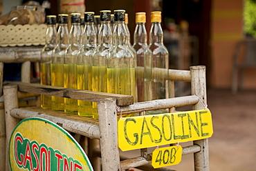 Gasoline Station, Ko Samui Island, Surat Thani, Thailand, Southeast Asia, Asia