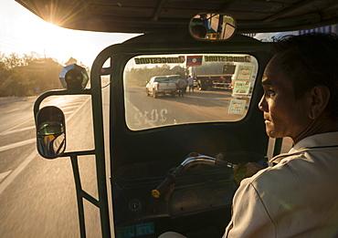 Sawngthaew tuk-tuk, Vientiane, Laos, Indochina, Southeast Asia, Asia