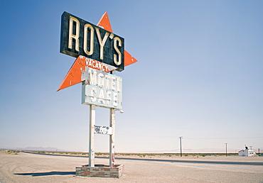 Roy's Motel, Route 66, Amboy, California, United States of America, North America