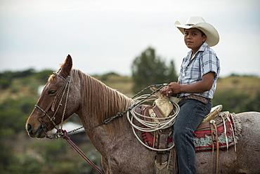 Portrait of Albaro, Rancho Xotolar, San Miguel de Allende, Guanajuato, Mexico, North America