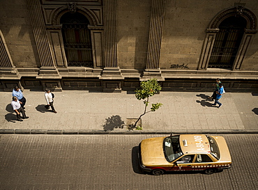 View from Hotel Isabel, Mexico City, Mexico, North America