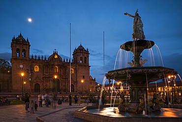 La Catedral, Plaza de Armas, Cusco (Cuzco), Peru, South America