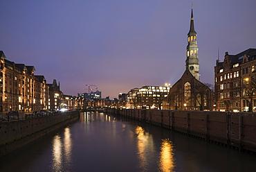 Hafencity, Hamburg, Germany, Europe