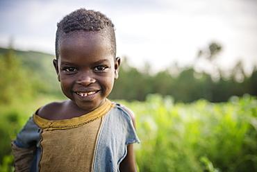 Portrait of Brahan, Ari Tribe, Jinka, Omo Valley, Ethiopia, Africa