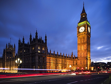 Big Ben, Houses of Parliament, UNESCO World Heritage Site, Westminster, London, England, United Kingdom, Europe
