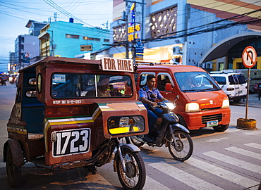Tuk tuk, Tagbilaran, Bohol Island, Visayas, Philippines, Southeast Asia, Asia