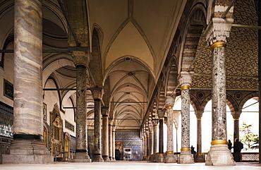 Interior of Topkapi Palace, UNESCO World Heritage Site, Sultanahmet, Istanbul, Turkey, Europe