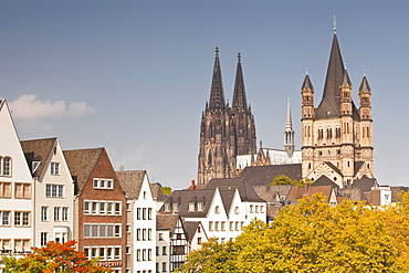 The old town of Cologne, North Rhine-Westphalia, Germany, Europe