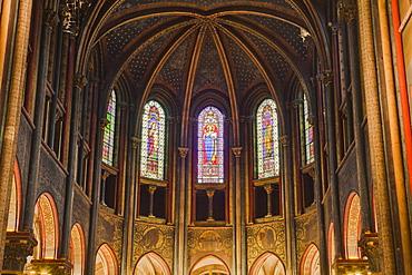 The choir of Eglise de Saint Germain des Pres in Paris, France, Europe