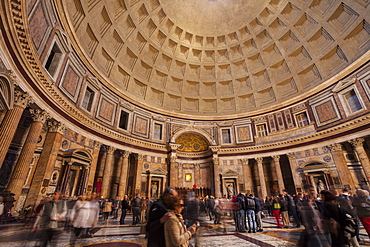 The Pantheon in Rome, Lazio, Italy, Europe