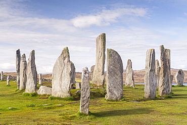 The Callanish Stones on the Isle of Lewis, Outer Hebrides, Scotland, United Kingdom, Europe