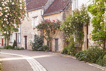 The village of Chedigny, Indre-et-Loire, Centre, France, Europe