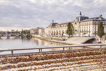 Musee d'Orsay on the River Seine, Paris, France, Europe