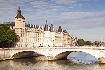 The Conciergerie, a former royal palace and prison, Palais de Justice, Ile de la Cite, Paris, France, Europe