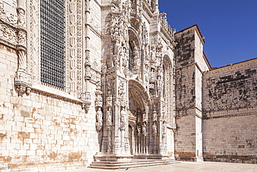 Mosteiro dos Jeronimos (Monastery of the Hieronymites), UNESCO World Heritage Site, Belem, Lisbon, Portugal, Europe