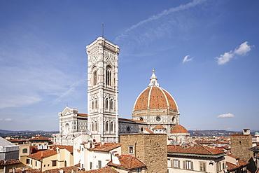 Basilica di Santa Maria del Fiore (Duomo) in Florence, UNESCO World Heritage Site, Tuscany, Italy, Europe