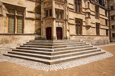 The Ducal Palace (Palais Ducal) in Nevers, Burgundy, France, Europe