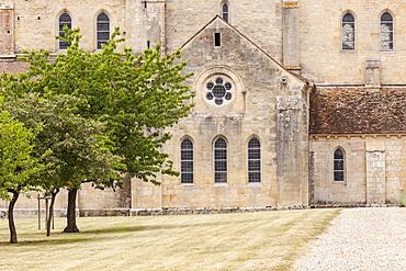 The Abbey at Noirlac (Abbaye de Noirlac), Cher, Centre, France, Europe
