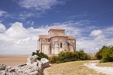 Saint Radegonde church, Talmont, Charente-Maritime, France, Europe