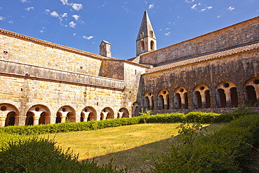 Thoronet Abbey in the Var region of Provence, France, Europe