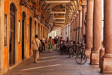 Via Emilia Centro in Modena, Emilia-Romagna, Italy, Europe