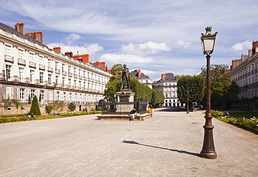 Cours Cambronne in the city of Nantes, Loire-Atlantique, France, Europe