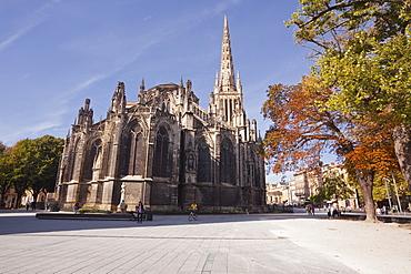 Bordeaux Cathedral (Cathedrale Saint-Andre de Bordeaux), Bordeaux, Gironde, Aquitaine, France, Europe