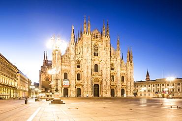 The Duomo di Milano (Milan Cathedral), Milan, Lombardy, Italy, Europe