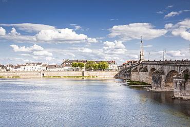 The Pont Jacques Gabriel in Blois, Loir-et-Cher, Centre-Val de Loire, France, Europe