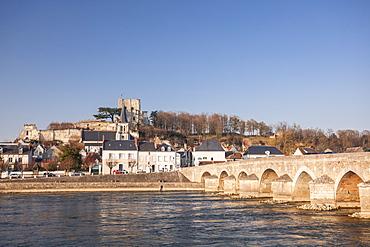 The small village of Montrichard, Loir-et-Cher, Loire Valley, Centre, France, Europe