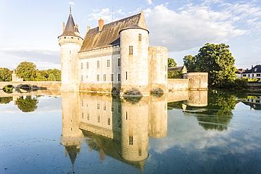 The Chateau de Sully-sur-Loire, seat of the Duke de Sully, Loiret, France, Europe