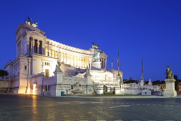 Il Vittoriano, Rome, Lazio, Italy, Europe