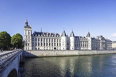 The Conciergerie in Paris, France, Europe