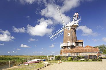 Cley Windmill, Cley-next-the-Sea, Norfolk, England, United Kingdom, Europe