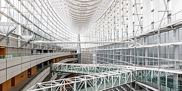 The Tokyo International Forum in central Tokyo, Japan.
