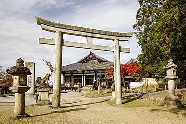Todaiji Hokkedo, UNESCO World Heritage Site, Nara, Japan, Asia