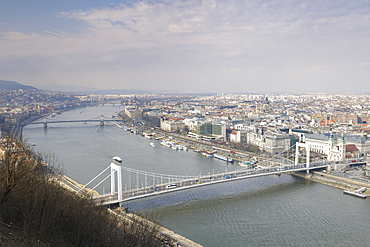 The city of Budapest and River Danube, UNESCO World Heritage Site, Budapest, Hungary, Europe
