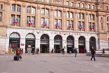 Gare Saint Lazare railway station in Paris, France, Europe