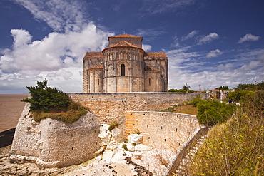 Saint Redegonde church, Talmont, Charente-Maritime, France, Europe