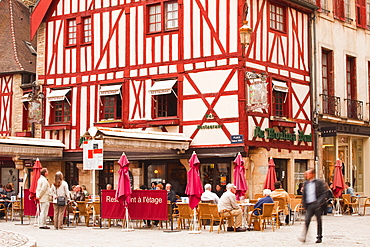 Place Francois Rude in the city of Dijon, Burgundy, France, Europe