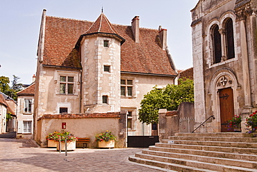 Maison de Jacques Coeur II, one of the oldest houses in Sancerre, Cher, Centre, France, Europe