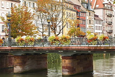 La Petite France, Grande Ile, UNESCO World Heritage Site,  Strasbourg, Bas-Rhin, Alsace, France, Europe