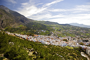Chefchaouen (Chaouen), Rif Mountains, Morocco, North Africa, Africa