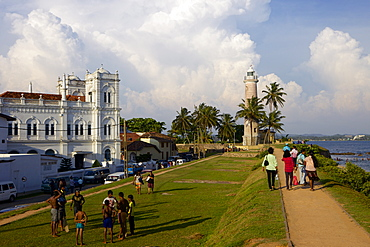 Historic Dutch Fort, UNESCO World Heritage Site, Galle, Southern Province, Sri Lanka, Indian Ocean, Asia