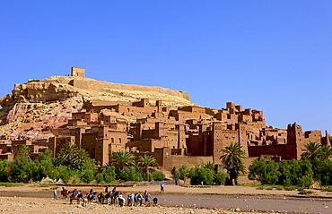Kasbah, Ait-Benhaddou, UNESCO World Heritage Site, Morocco, North Africa, Africa