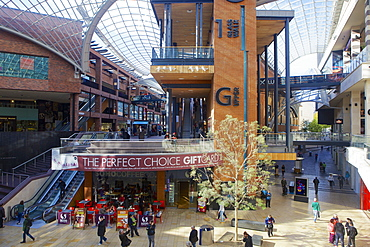 Cabot Circus shopping centre in Bristol, England, United Kingdom, Europe